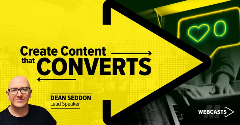 5 Reasons You NEED to attend The Create Content That Converts Webcast featured image